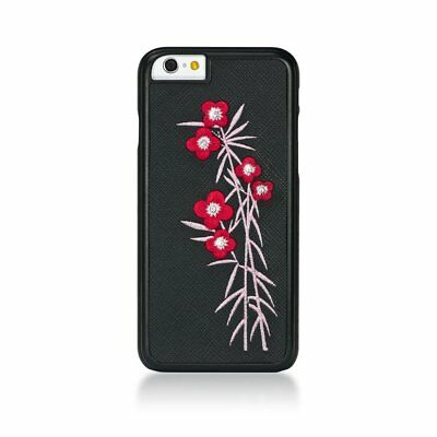 £9.42 • Buy Bling My Thing Black Case In Flora Design On Black Leather For IPhone 6, Sz 4.7