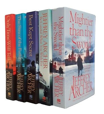 £14.80 • Buy Jeffrey Archer 5 Books Clifton Chronicles Series 1-5 Crime Thriller New Thriller