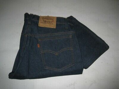 004d9b49344 Vintage DEADSTOCK 1980s Orange Tab Levi's 517 Jeans USA MADE Size 34 X 29 •  125.00