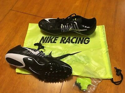 differently bee37 41fb3 Nike Zoom Celar 5 Track Sprint Spikes 629226-017 Black White Mens 12 •