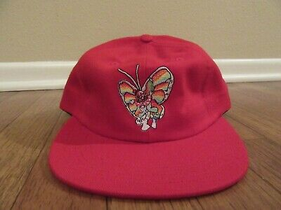 53c85515 Supreme Gonz Butterfly 6-Panel Snapback Hat Cap Red SS16 SS16H42 Brand New  DS •