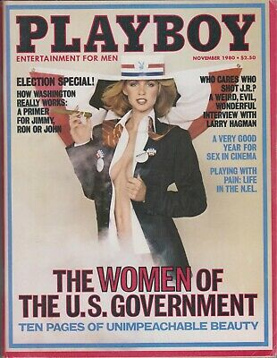 $ CDN9.87 • Buy Playboy November 1980-b – Jeana Tomasino – Larry Hagman – Sex In Cinema !!!