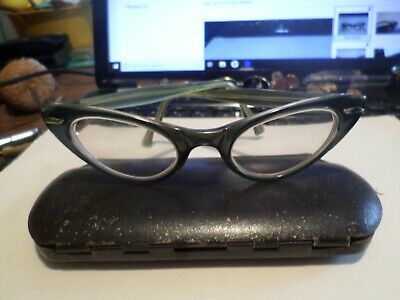 3b2690cf4bb Vintage UOC Universal Women s Cat Eye Glasses Safety Style Celluloid Frames    • 16.99