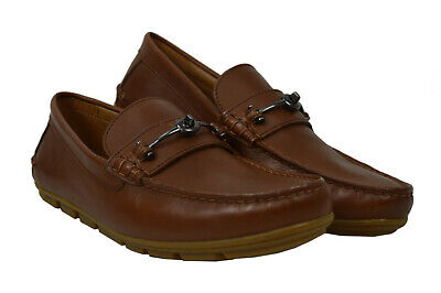 $169.99 • Buy Coach Mens FG2984 Saddle Brown Mott Driver Driving Loafers Shoes 12 D 8749-3
