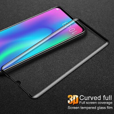 Tempered Glass Full Screen Protector 3D Curved For HUAWEI P30/ P30 Pro/ P30 Lite • 3.99£