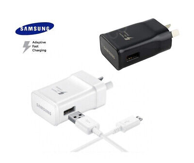 AU6.50 • Buy Genuine Samsung Galaxy S8 S9 S10 Plus S7 S6 S5 Note 8 9 5 Fast Wall Charger