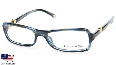 eaca95b2a10f NEW TIFFANY   Co. TF 2061 8113 OCEAN BLUE EYEGLASSES FRAME 52-16-