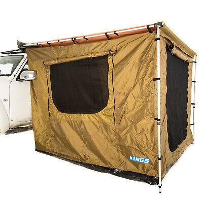 AU199 • Buy Kings 2.5m X 2.5m Awning Tent Waterproof Camping Outdoor Canopy Sunshade 4X4 4WD