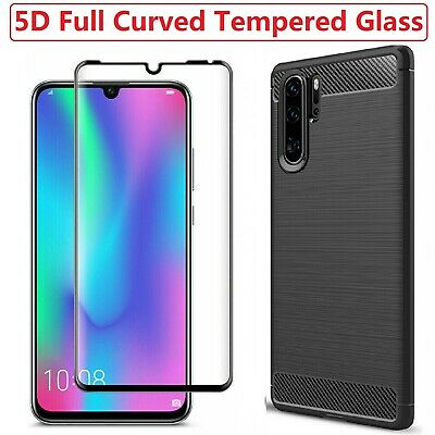 For Huawei P30 Pro Case Armor Cover + Tempered Glass Screen Film Huawei P30 Pro • 4.86£