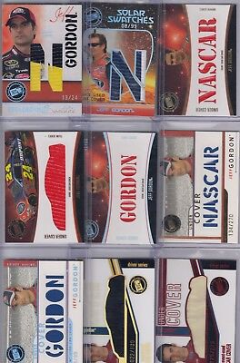 $12.50 • Buy 2002-10 Eclipse JEFF GORDON Under Cover Car Cover Relic Inserts; U-Pick WOW!