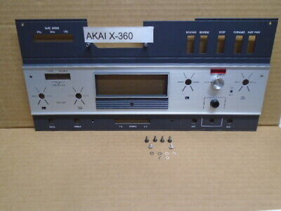 $29.99 • Buy Akai GX-360 Panel Amplifier Cover With Meter Escutcheon & Mount Screws Used