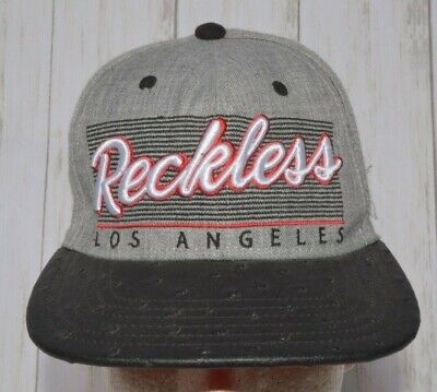purchase cheap 3baa1 d747e Young   Reckless Los Angeles Hat Cap Snapback • 14.00