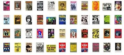 £2.89 • Buy A4 A3 Old Vintage Rock Band Song Musica Concert Posters Advertisement Advert #b2