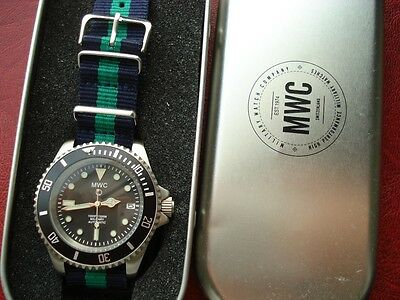 $ CDN377.52 • Buy MWC Military Diver Style AUTOMATIC Watch Mens