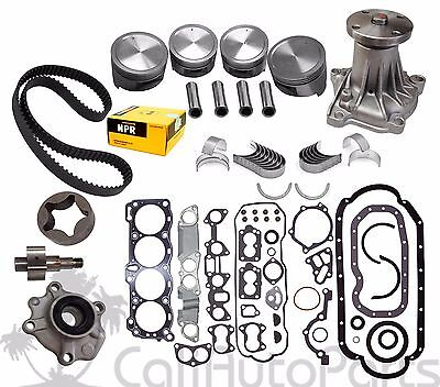 AU302.44 • Buy 88-92 Isuzu Amigo Rodeo 2.6l 4ze1 8v Sohc Brand New Master Engine Rebuild Kit