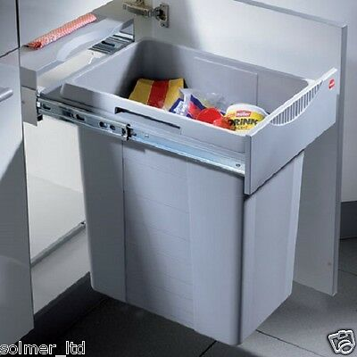 Hailo Easy Cargo 40ltr Kicthen Cabinet Unit Pull Out Waste Bin 400mm 502.70.520 • 159£