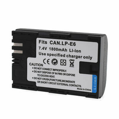 Battery For Canon EOS 6D Mark II WFT-E7 XC15 EOS 7D EOS 5D Mark IV SLR Camera • 9.99£