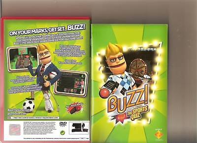 Buzz The Sports Quiz Playstation 2 Ps2 Buzzers Ps 2 • 12.99£