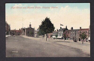 £8 • Buy Oxfordshire Oxon CHIPPING NORTON High St Market Place Used 1907 PPC By Valentine
