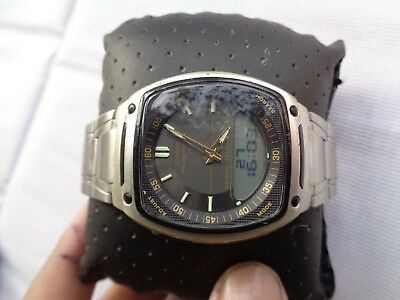Used Casio Men's AW-81 World Time Databank Ana Digi Display Quartz Watch • 29.99£