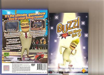 Buzz The Music Quiz Playstation 2 Ps 2 Buzzers Ps2 • 12.99£