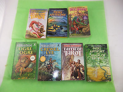 Fourteen (14) Piers Anthony Paperback Books Including Ten (10) Xanth Series • 26$
