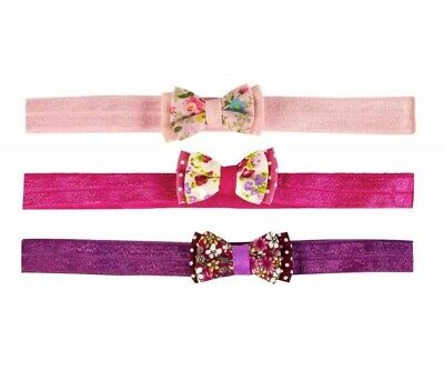 Girl Hairband With Bow Children Hair Ornament Headband From 3 Years • 24.82£