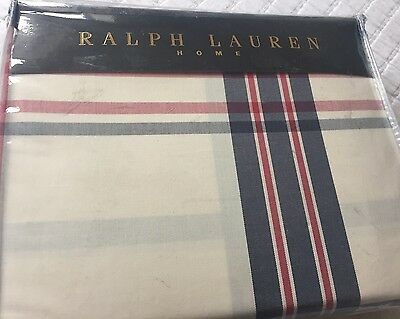 Ralph Lauren Talmadge Hill Plaid Multi Duvet Cover Set Superking • 399.99£