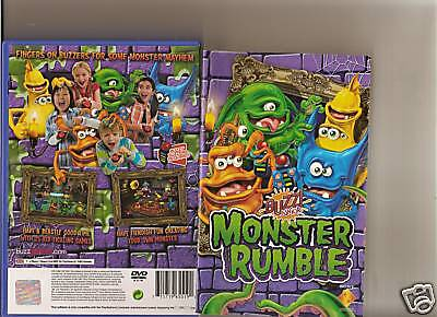 Buzz Junior Monster Rumble Playstation 2 Ps2 Buzzers • 17.99£