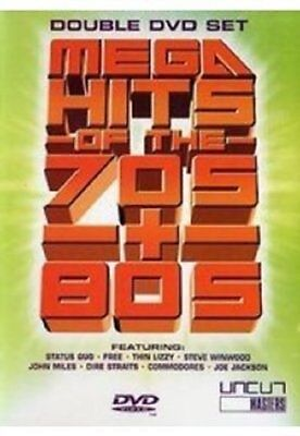 Various Artists - Mega Hits Of The 70s & 80s [DVD] BRAND NEW SEALED FREEPOST • 19.99£