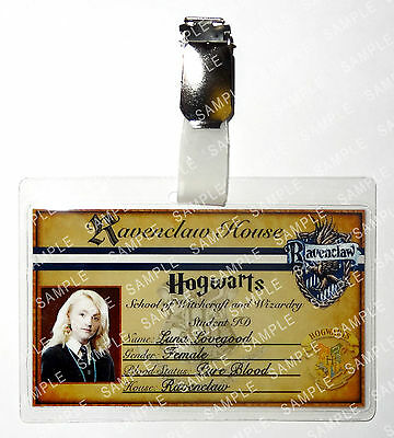 Luna Lovegood Harry Potter Hogwarts Cosplay Costume Prop Comic Con Christmas • 6.99£