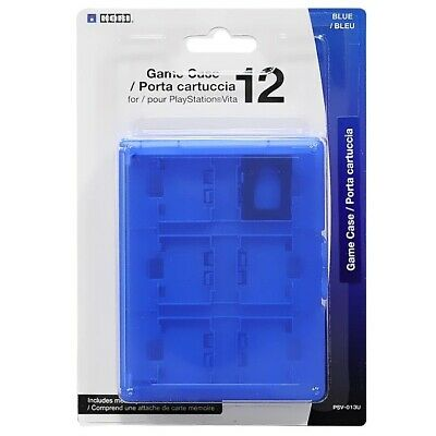 £4.02 • Buy HORI Game Case 12 Blue For PS Vita PlayStation Game Console Storage 12 Cards