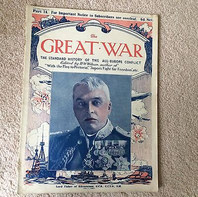 £8.48 • Buy WWI THE GREAT WAR Standard History Of The All Europe Conflict HW Wilson PART 14