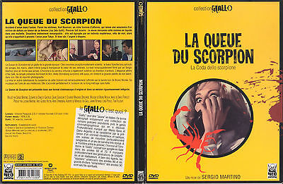 The Case Of The Scorpion's Tail - Sergio Martino - Giallo French Digipak SE DVD  • 9.99£