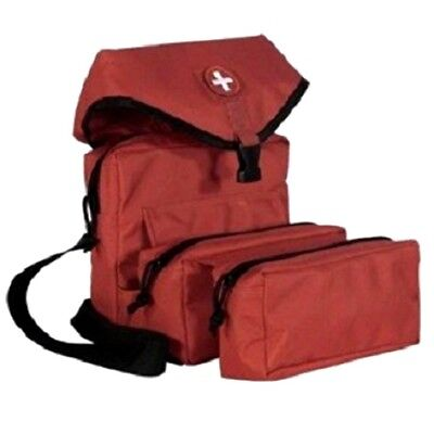 $75.91 • Buy ELITE FIRST AID Corpsman M3 Medic Bag STOCKED Trauma Kit Military Survival RED+