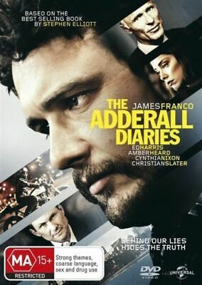 AU6.90 • Buy THE ADDERALL DIARIES New Dvd JAMES FRANCO ***