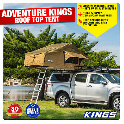 AU609.04 • Buy Camping Outdoor Kings Roof Top Tent Annexe Trailer Offroad SUV Outdoor Canvas