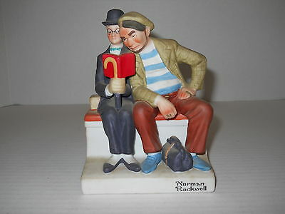 $ CDN21.90 • Buy The 12 Norman Rockwell Danbury Mint 7  Porcelain Figurines The Interloper 1980