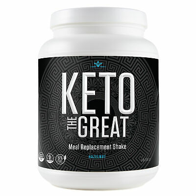 $19.99 • Buy Keto The GreatTM - Shake For Keto Diet - Hazelnut Coffee (1 Lb)