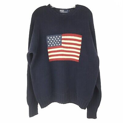Polo Flag Flag Sweater Polo American American Sweater 5RjL4A