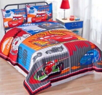 Disney Cars 2 Twin XL Quilt Bedding 2 Shams Are Included Very Rare Hard To Find • 83.09£