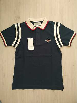 a25544d34f0 Gucci Mens Navy Cotton Polo Shirt New With Tags • 99.00