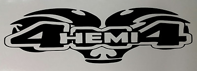 $8.95 • Buy 4x4 Sticker Decal 3  X 10  (2) Dodge Ram Truck Hemi