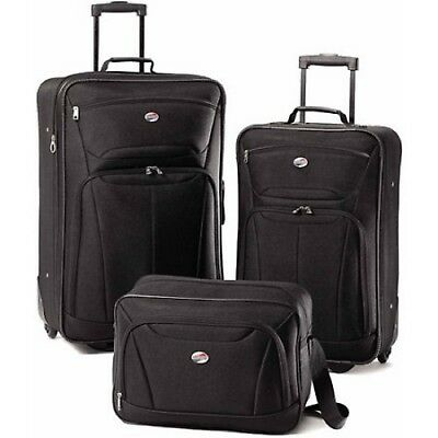 View Details 3 PC Luggage Set Travel Bag Baggage Tote Lightweight Suitcase American Tourister • 144.77$
