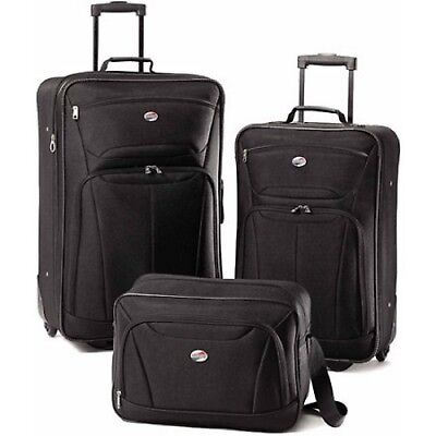 View Details 3 PC Luggage Set Travel Bag Baggage Tote Lightweight Suitcase American Tourister • 169.31$