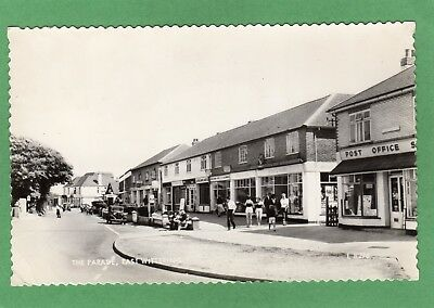 Post Office The Parade East Wittering Nr Chichester RP Pc Used 1966   Ref L396 • 15£