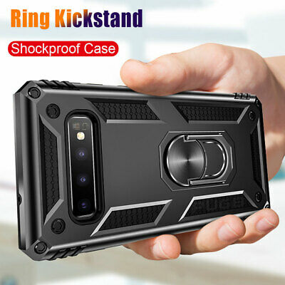 $ CDN4.27 • Buy Military Armor Case For Samsung Galaxy S8 S9 S10 Plus Magnetic Ring Holder Cover