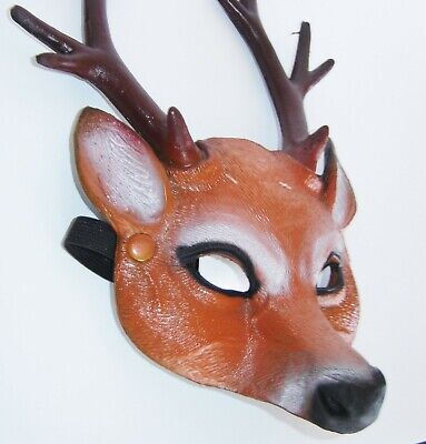 Masquerade Carnival Fun Party Adult & Kids Stag Night Deer Animal With Antlers  • 7.95£