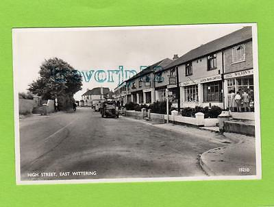 High Street Shop East Wittering Nr Chichester Unused RP Pc Salmon Ref B824 • 25£