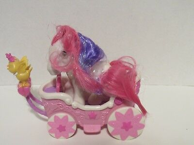 My Little Pony G3 Crystal Princess Breezie Parade Cute Curtsey And Carriage • 28.28£